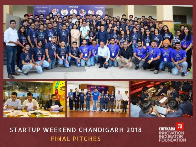 Startup Weekend Chandigarh 2018 Final Pitches